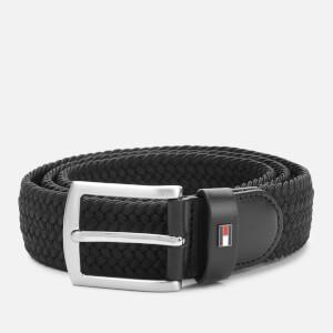Tommy Hilfiger Men's Denton Elastic Belt - Black