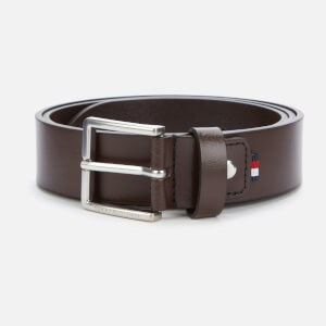 Tommy Hilfiger Men's Urban Denton Leather Belt - Testa Di Moro