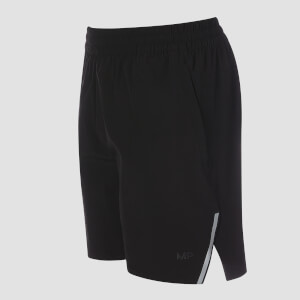 Woven Training Shorts - Musta