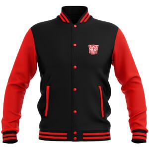 Transformers Autobot Varsity Jacket - Black / Red