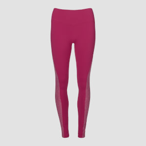 Legging chiné Power MP pour femmes – Framboise