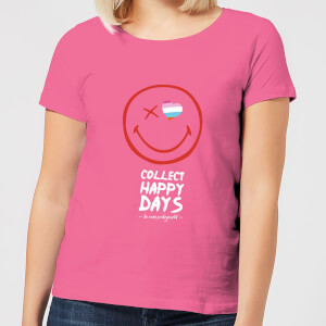 Collect Happy Days Women's T-Shirt - Pink
