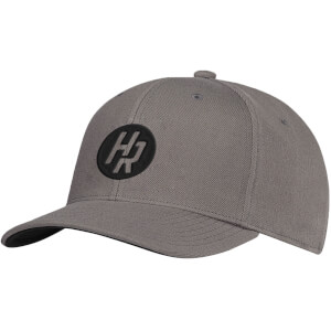 How Ridiculous HR Emblem Grey Embroidered Curved Peak Cap