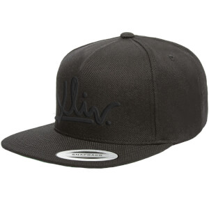 How Ridiculous XLIV Black Embroidered Snapback Cap