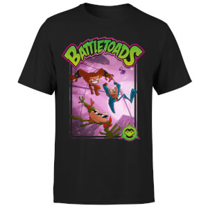 Battle Toads Hop T-Shirt - Black