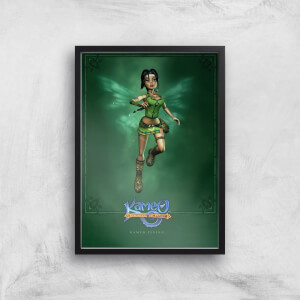 Kameo Character Art Flying A3 Giclee