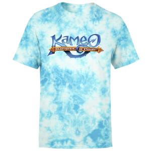 Kameo Logo T-Shirt - Turquoise Tie Dye