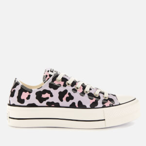 Converse Women's Chuck Taylor All Star Lift Ox Trainers - Vintage White/Multi/Black