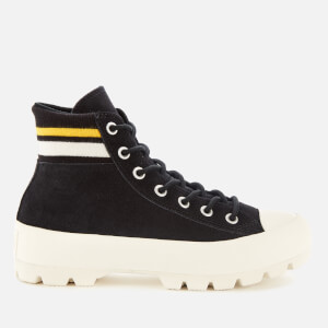 Converse Women's Chuck Taylor All Star Lugged Varsity Hi-Top Trainers - Black/Amarillo/Egret
