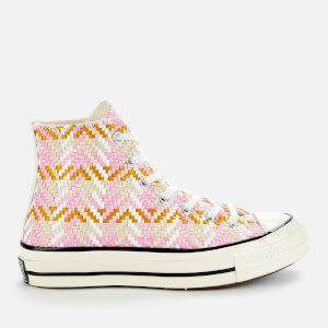 Converse Women's Chuck 70 Hi-Top Trainers - Egret/Multi/Black