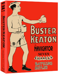 Buster Keaton: 3 Films - Limited Edition