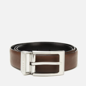 Ted Baker Men's Karmer Reversible Belt - Xchocolate