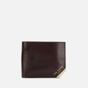 Ted Baker Men's Korning Corner Detail Wallet - Chocolate