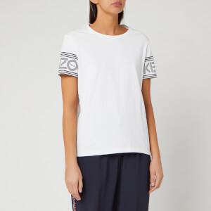 KENZO Women's Kenzo Sport Straight T-Shirt - White