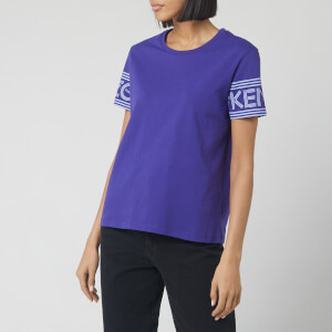 KENZO Women's Kenzo Sport Straight T-Shirt - Aubergine