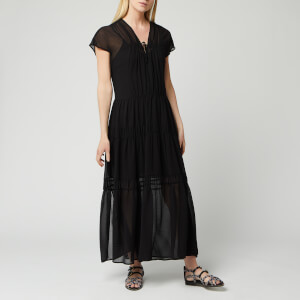 See By Chloé Women's V-Neck Maxi Dress - Black