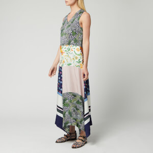 See By Chloé Women's Patch Maxi Dress - Multicolour
