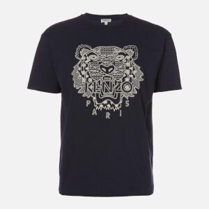 KENZO Men's Shibori Tiger Skate T-Shirt - Midnight Blue