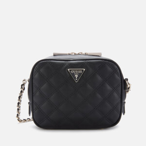 Guess Women's Cessily Mini Camera Bag - Black