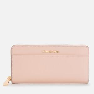 MICHAEL MICHAEL KORS Women's Jet Set Pocket Ziparound Continental - Soft Pink
