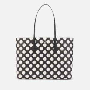 Kate Spade New York Women's Molly Bikini Dot Large Tote - Black Multi