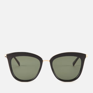 Le Specs Women's Caliente Sunglasses - Black/Gold