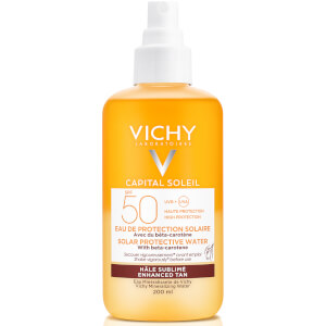 VICHY Capital Soleil Solar Protective Water Tan Enhance SPF50 200ml