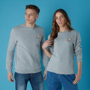 Sega Tails Retro Unisex Sweatshirt - Grey