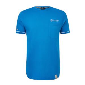 Men's Blue Pocket Team T-Shirt