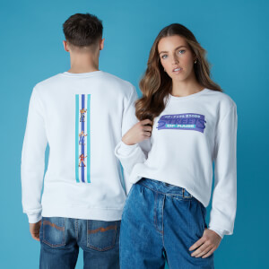 Sega Street Of Rage Unisex Sweatshirt - White