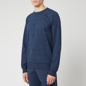 Emporio Armani Men's Crewneck Sweatshirt - Blue
