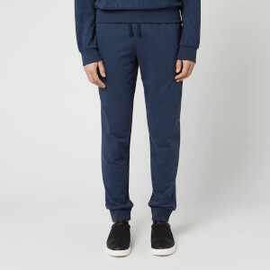 Emporio Armani Men's Terry Lounge Pant - Blue