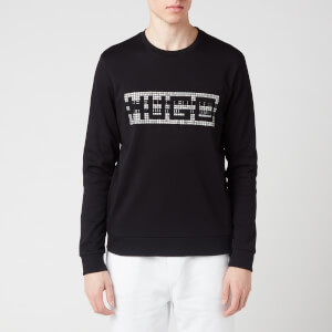 HUGO Men's Dicago-U202 Sweatshirt - Black