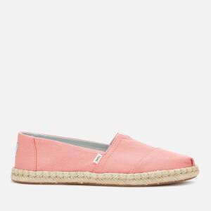 TOMS Women's Plant Dye Alpargata Espadrilles - Pink