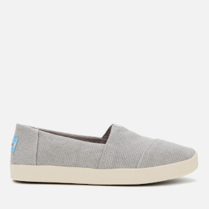 TOMS Women's Grey Avalon Slip On - Grey