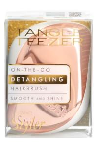 Tangle Teezer Compact Styler Detangling Hairbrush - Rose Gold Ivory