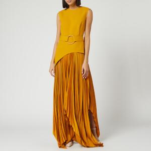 Solace London Women's Anya Midaxi Dress - Ochre