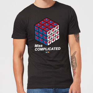 Miss Complicated Love Cube Men's T-Shirt - Black