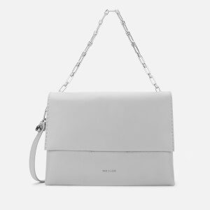 Ted Baker Women's Diaana Bar Detail Shoulder Bag - Light Grey