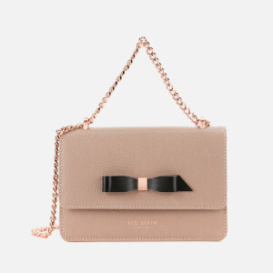 Ted Baker Women's Jayllaa Bow Detail Micro Cross Body Bag - Taupe