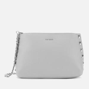 Ted Baker Women's Jemira Bow Stud Clutch Bag -Light Grey