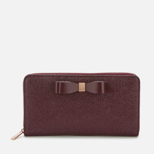 Ted Baker Women's Aine Bow Zip Around Matinee - Oxblood