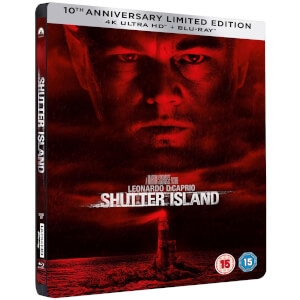 Shutter Island 10th Anniversary 4K Ultra HD Steelbook (Includes 2D Blu-ray)