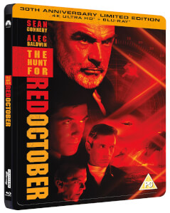 Hunt For Red October 30th Anniversary 4K Ultra HD Steelbook (Includes 2D Blu-ray)