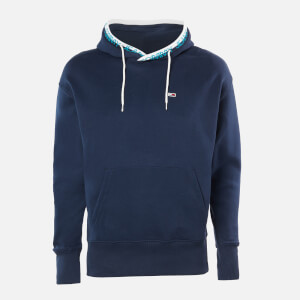 Tommy Jeans Men's Branded Rib Hoody - Twilight Navy