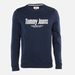 Tommy Jeans Men's Essential Graphic Sweatshirt - Twilight Navy