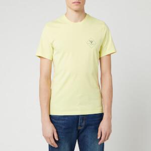Barbour Beacon Men's Box Logo T-Shirt - Pale Lemon