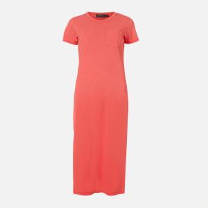 Polo Ralph Lauren Women's Short Sleeve Dress - Amalfi Red