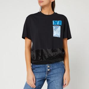 Helmut Lang Women's Blouson T-Shirt - Basalt Black