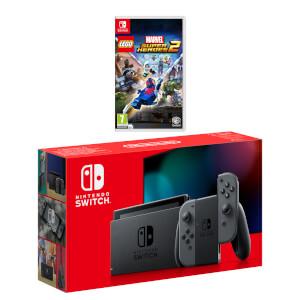 Nintendo Switch (Grey) LEGO Marvel Super Heroes 2 Pack